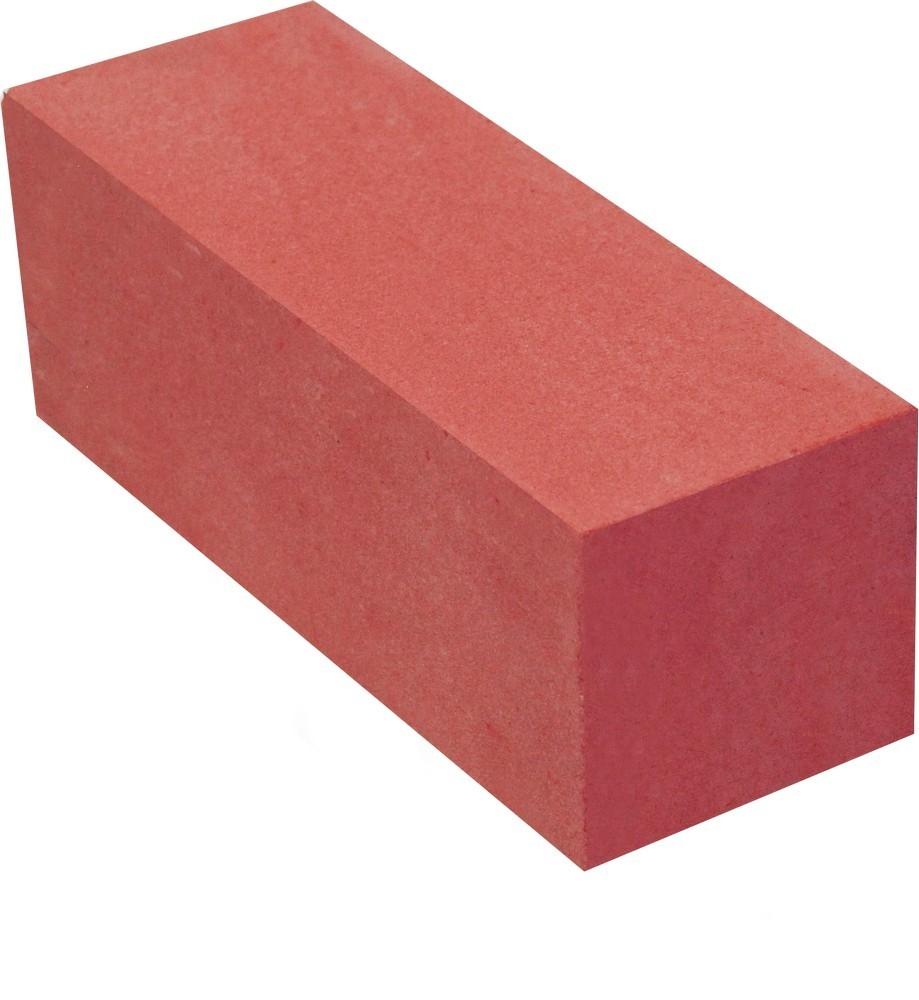 Кирпич лицевой силикатный Красный полнотелый утолщенный