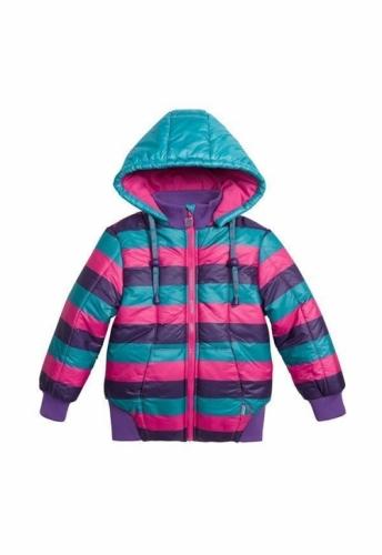Куртка для девочек, размер 3, весна-осень, многоцветная Pelican GZWL3002/1