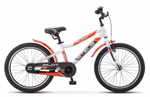 Велосипед Stels Pilot-210 Gent, белый/красный, рама 20