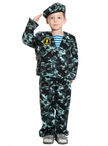 Карнавальный костюм Спецназ-2, 5-7 лет