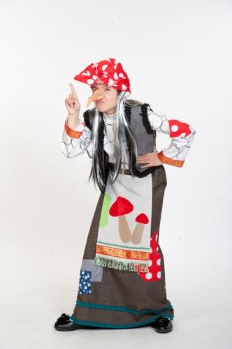 Карнавальный костюм Баба Яга, 10-12 лет