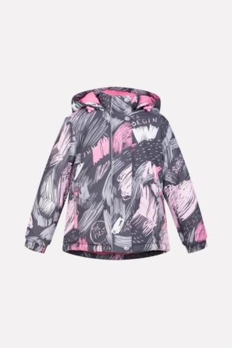 Куртка для девочки Crockid ВК 38033/н/1 ГР размер 92-98