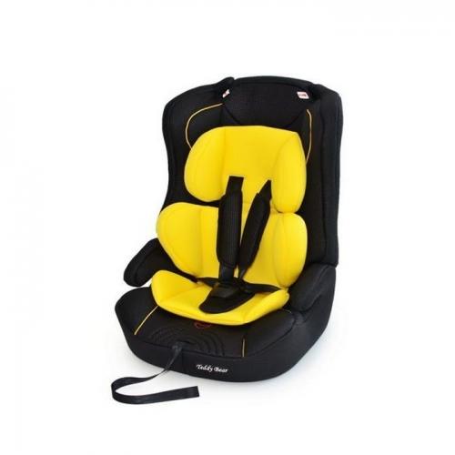Автокресло Teddy Bear LB 513 RF Премиум 1/2/3 23 yellow/black dot