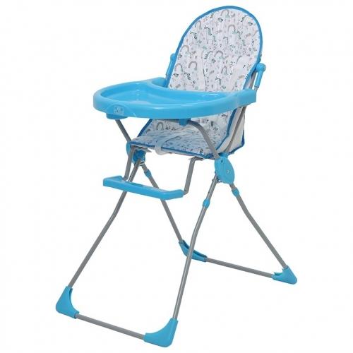Стульчик для кормления Polini Kids 152 Единорог Радуга Голубой