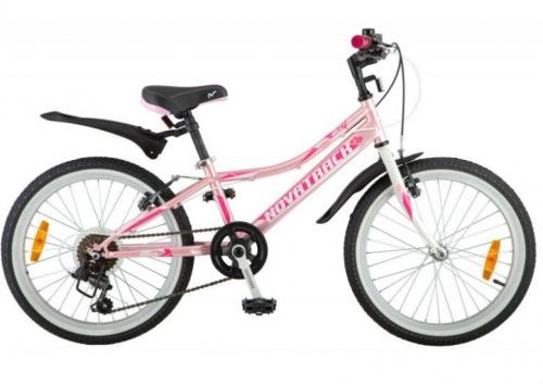 Велосипед Novatrack Alice, розовый, рама 20