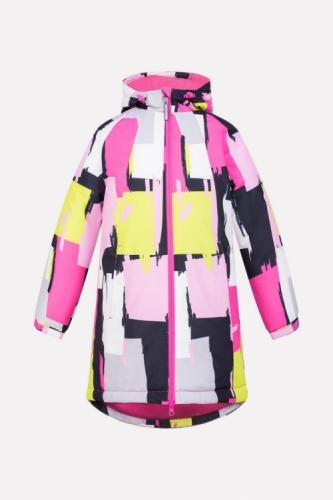 Куртка для девочки Crockid ВК 38038/н/1 ГР размер 128-134