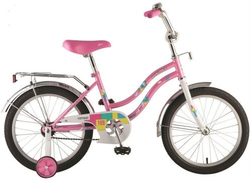 Велосипед Novatrack Tetris, розовый, рама 18