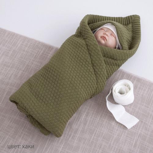 Конверт-одеяло Крошкин дом с капюшоном