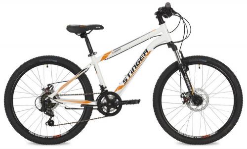 Велосипед Stinger Element D, белый, рама 24