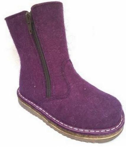 Валенки Фома для девочки, артикул 336-218-17, размер 30 (190 мм) фиолетовый