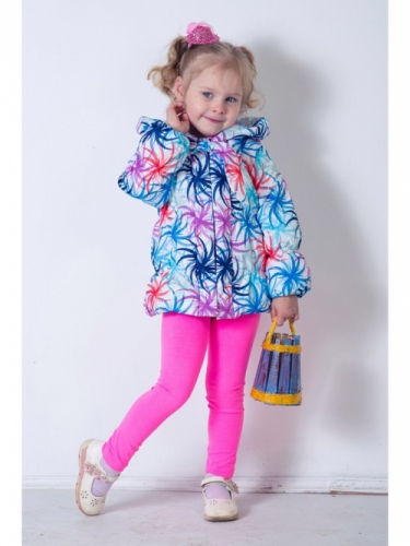 Куртка для девочек, размер 26, весна-осень, сиреневая Modus L, Каприз