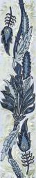 Бордюр Golden Tile Александрия голубой В13351 60х300