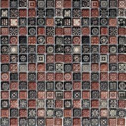 Мозаика Bonаparte Magic коричневая матовая 30.5х30.5