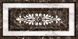 Декор Нефрит-керамика Пастораль 08-00-5-10-21-04-460 50x25 Чёрный