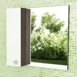 Шкаф-зеркало Comforty Рио 70 Дуб Солсбери