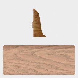 Заглушка торцевая левая (блистер 4 шт.) Т-пласт 079 Дуб Мокко / Дуб Северный