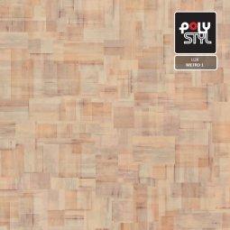 Линолеум Бытовой Polystyl Lux Metro 1 2,5м