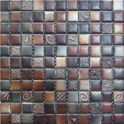 Мозаика Elada Ceramic SH-W2564 шоколадный морской микс 30x30
