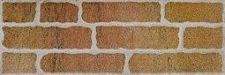 Плитка для стен Сокол Кремль KS-1-2 оранжевая полуматовая 12х36.5