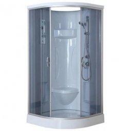 Душевая кабина Erlit Comfort ER1509-C4 900х900х2150 мм тонированное стекло