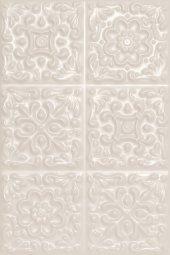 Плитка для стен Шаxтинская Плитка Прованс Белый 01 20x30
