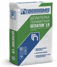 Шпатлевка Гипсополимер Белатон LR финишная белая полимерная 25 кг