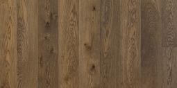 Паркетная доска Polarwood Space Дуб Премиум Сириус коричневое масло 1-полосная 1800