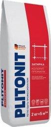 Затирка Plitonit Colorit Premium для швов до 15 мм усиленная армирующими волокнами светло-голубая 2кг