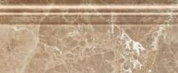 Бордюр Golden Tile Lorenzo Modern темно-бежевый  Н4Н331 300х120