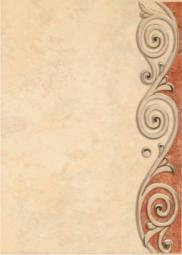 Декор Береза-керамика Толедо бежевый 25х35