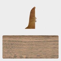 Заглушка торцевая правая (блистер 4 шт.) Т-пласт 016 Пестрое Дерево