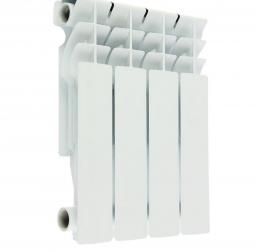 Радиатор алюминиевый Oasis 004 350/80 4 секции 0.392 кВт