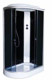 Кабина душевая Aquapulse 4126D R 1200х800х2200 мм Black