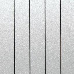 Рейка S-профиль металлик серебристый-С02 100*4000