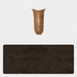 Внутренний угол Т-пласт 47 мм Орех Бразильский Темный
