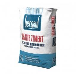 Шпатлевка Bergauf Glatte Zement базовая цементная морозостойкая 25 кг