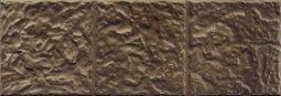 Плитка для стен Сокол Саяны SN-5-3 коричневая полуматовая 12х36.5
