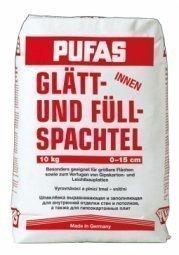 Шпатлевка Pufas №3 Glatt- und Fullspachtel для выравнивания неровностей 10 кг