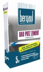 Штукатурка Bergauf Bau Putz Zement цементная 5 кг