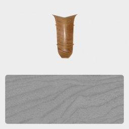 Внутренний угол Т-пласт 47 мм Сосна Серая