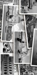 Вставка Golden Tile Absolute Collage черный  Г2С421 300х600