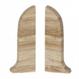 Заглушка торцевая левая и правая (блистер 2 шт.) Salag Груша Денвер 56