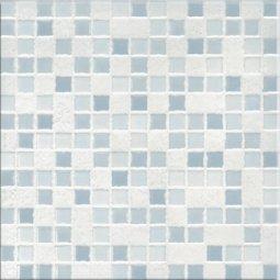 Плитка для стен Сокол Римская мозаика RM1B белая глянцевая 33х33