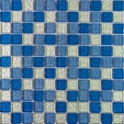 Мозаика Гранит Холл LGDHIK (BLGDHI) 008 голубая матовая 4х30x30