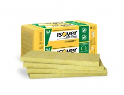 Минераловатный утеплитель Isover Стандарт 50 1200х600х50 мм /8шт