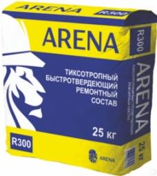 Гидроизоляционная смесь Arena RepairMaster R300 серая, 25 кг