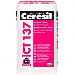 Штукатурка Ceresit СТ137 декоративная минеральная камешковая 1,0 мм