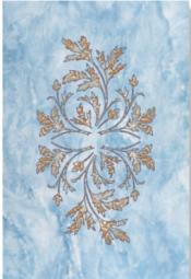 Декор Керамин Атланта 2Н Голубой 40x27,5