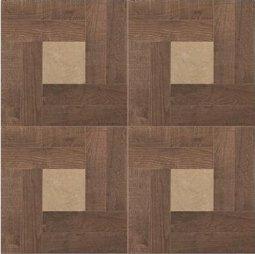 Керамогранит Zeus Ceramica Intarsio глазурованный Noce ZWXIN6R 45x45