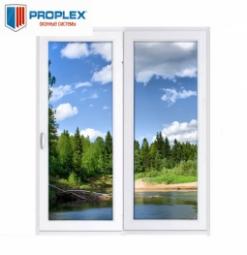 Окно раздвижное PROPLEX 2100x2000 двухстворчатое ЛР1000/ПГ1000 1 стеклопакет
